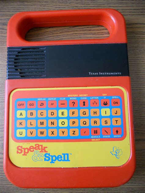 speak and spell a flash of inspiration