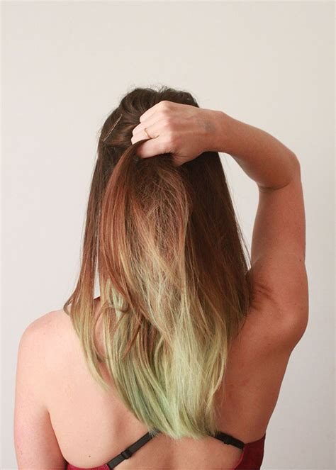 how to dye your hair with food coloring how to dye your hair with food coloring ecocult