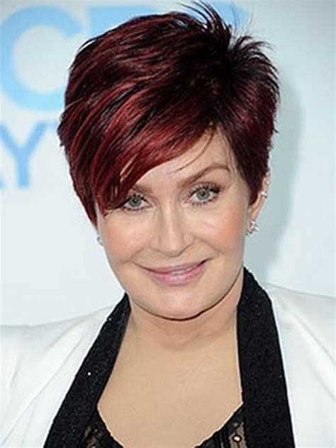 sharon osbourne hairstyles short hair color ideas 2014 2015 short hairstyles 2017