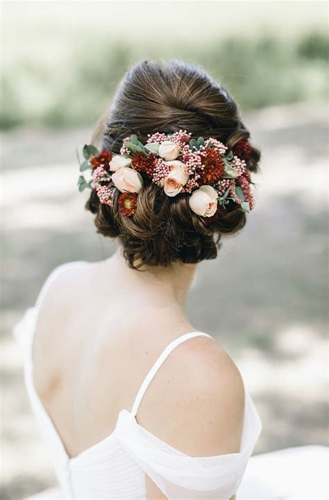 25 best ideas about bridal hair flowers on boho bridal hair wedding hairstyles