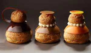 Another new patisserie cyril lignac gives the religieuse a modern