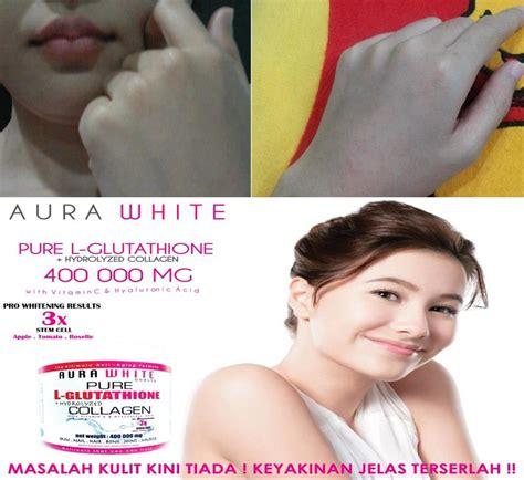 Aura White Collagen aura white gluta collagen harga murah giler borong