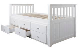 Bunk Beds With Pull Out Bed Underneath Day Bed Loki Single Bed With Pull Out Drawers And Trundle Underbed Ebay