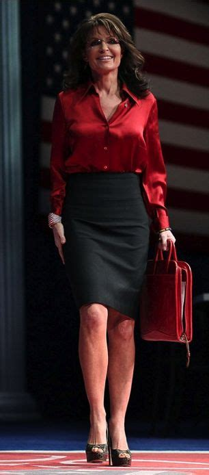 pantyhose skirt sarah palin picture of sarah palin in pants and skirts gq