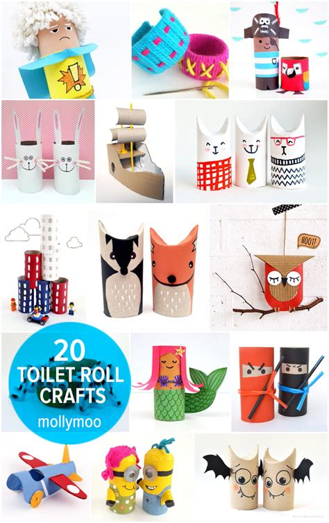 toilet roll crafts mollymoocrafts 20 toilet roll crafts for