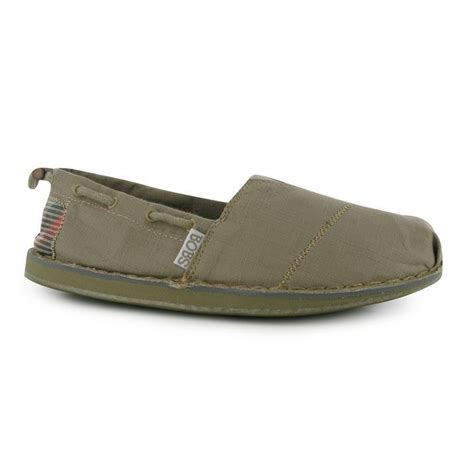 skechers womens bobs chill canvas boat shoes low