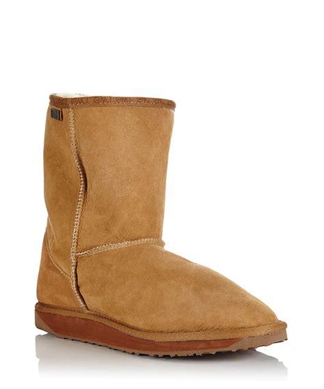 emu boots mens emu australia s stinger lo chestnut boots designer