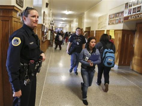 Officer School by Out Of Sight School Security Column