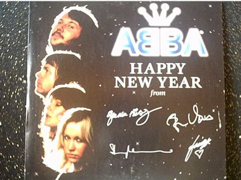 new years single abba happy new year single front