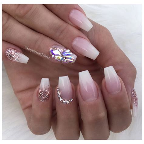 french ombr 233 acrylic short coffin nails perfect for 2016 ombre french nails coffin best image nail 2017