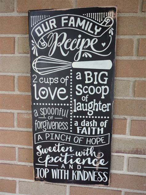 home decor family signs 25 best ideas about kitchen signs on pinterest kitchen