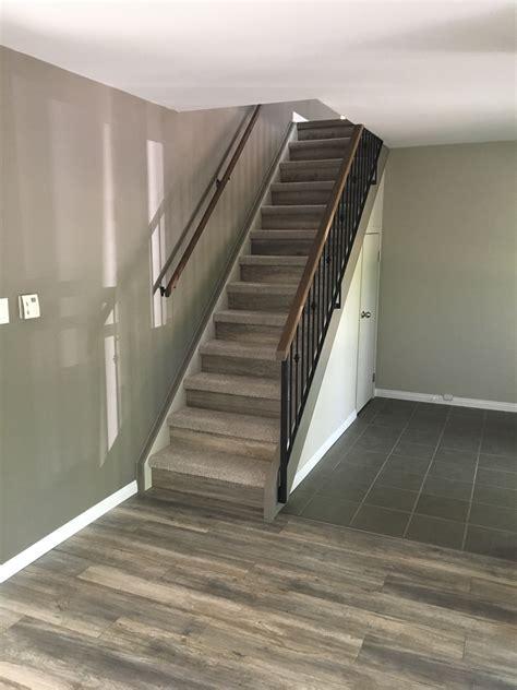 basement stairs paint color advice flooring diy