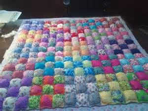 How To Make A Puff Quilt by Bisquit Puff Quilt