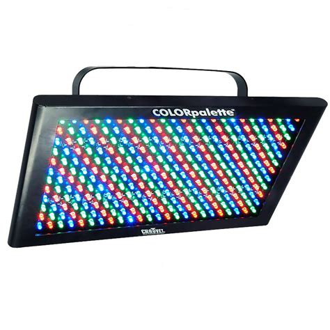 chauvet color palette chauvet dj colorpalette rgb led wash color effect light