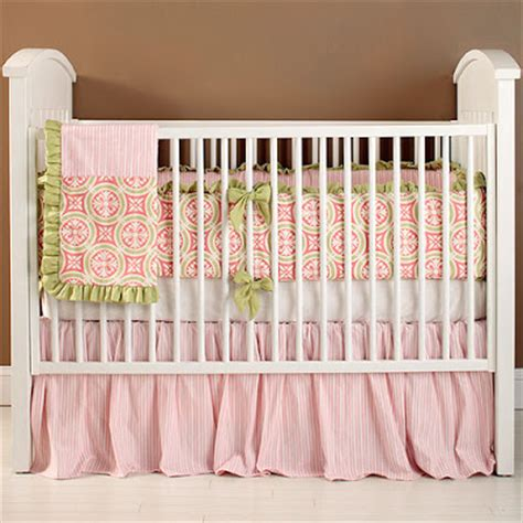 pink and green nursery nursery notations pink green nursery bedding
