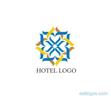 Free Hotel Logo Design   vector hotel floral logo design download vector logos