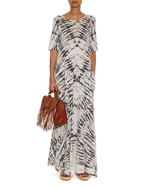 Allegra Maxi Cooler Bag lyst raquel allegra tie dye jersey maxi dress in black