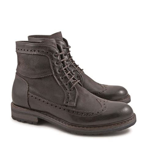 Italian Handmade Boots - 17 best images about handmade wingtip boots on