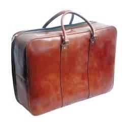 Chestnut Desk Swaine Adeney 26 Inch Soft Sided Leather Suitcase