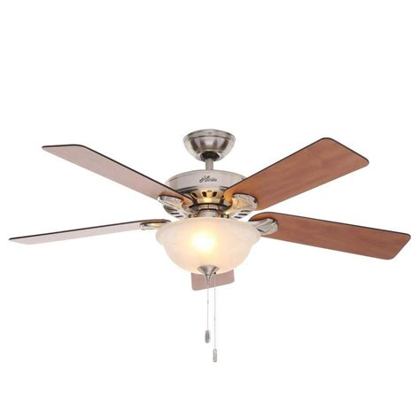 bass pro ceiling fans hunter pro s best five minute 52 in indoor brushed nickel