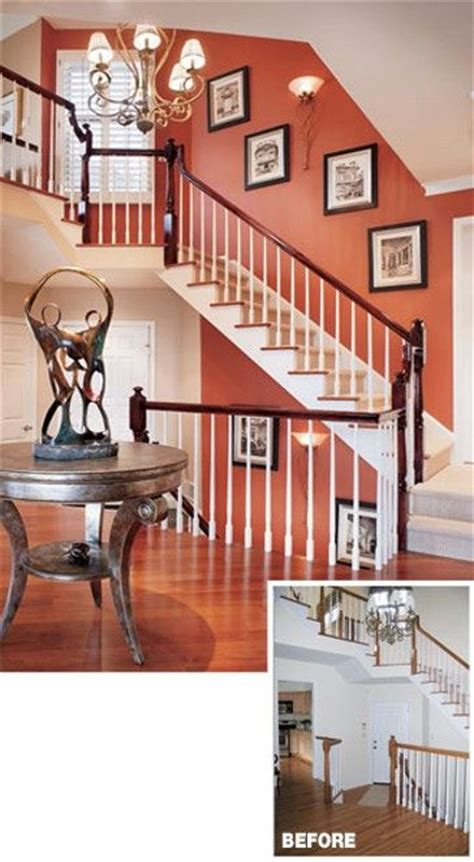 terracotta walls with white trim this looks warm and not orangy wall colors