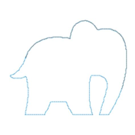 baby elephant template big dreams embroidery baby elephant machine embroidery