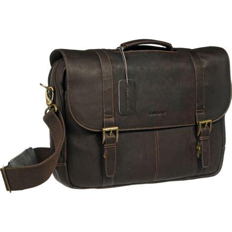 laptop bags leather samsonite leather laptop 45798 1139 b h photo