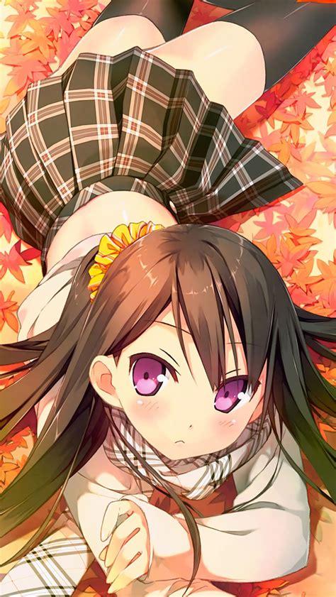 cute anime girl iphone wallpaper cute girl iphone 5 iphone 5 wallpaper 2014 girl