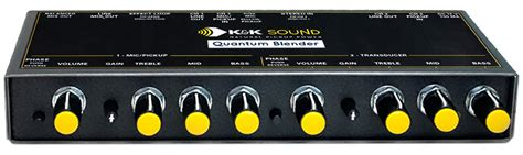 Blender Quantum k k sound quantum blender dual channel guitar pre eq mixer for 2 new ebay