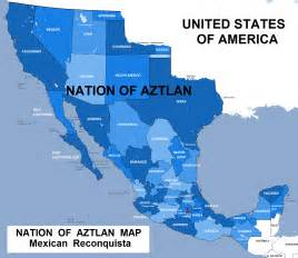 map of sw us and mexico many mexicans believe the southwestern u s belongs to