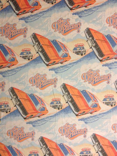 dukes of hazzard comforter dukes of hazzard twin flat bed sheet 80s by