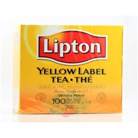 Teh Lipton Yellow Label lipton yellow label tea bags reviews in tea chickadvisor
