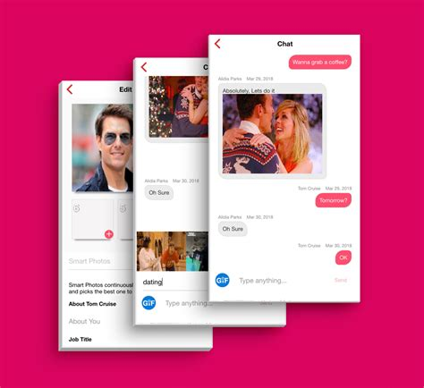 Tinder Like Dating App Template Ui For Ios And Android Free Downloads Oracle Based Free Dating App Template