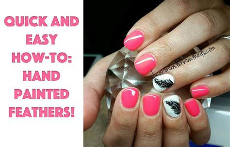 easy nail art tutorial youtube quick and easy nail art tutorial feathers youtube