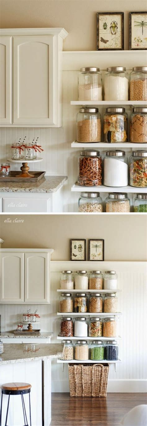 kitchen shelves design 35 best small kitchen storage organization ideas and