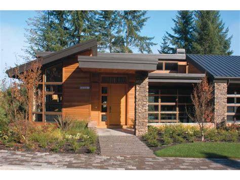 modern prairie house plans eplans contemporary modern house plan nature theme