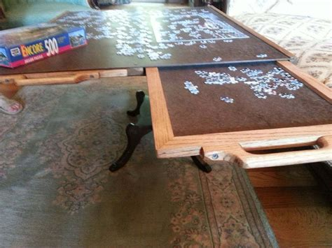 Jigsaw Puzzle Tray With Drawers by 4 Drawer Puzzle Board By Everette Ponder Jr