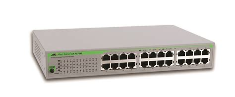Switch Allied Telesyn 24 Port switch allied telesyn fs724l 50 24 port 10 100 unmanaged eco friendly 990 002715 50