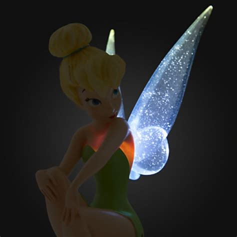 tinkerbell light disney tinker bell light up figurine