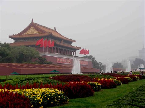 la ruta prohibida y la muralla china y la ciudad prohibida de beijimg