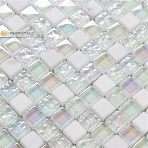 white glass backsplash tiles roselawnlutheran elegant pure white glass mixed stone tiles bathroom tiles