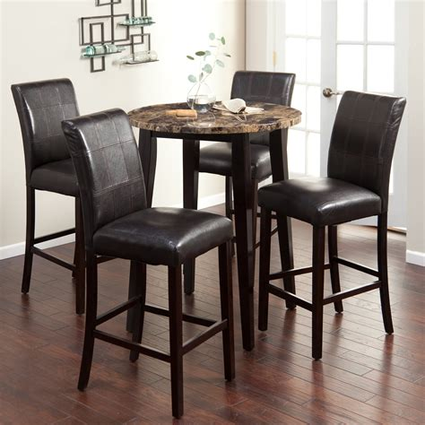 bar height pub table sets palazzo 5 bar height pub set bar pub