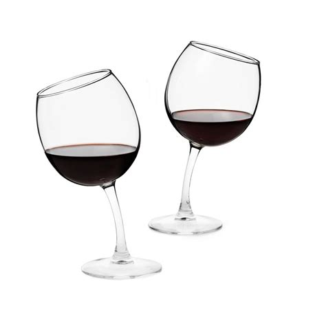 wine glass without stem tipsy wine glasses set of 2