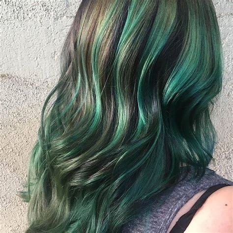 emerald hair color 15 aveda inspired hair colors for 2018 best hair color