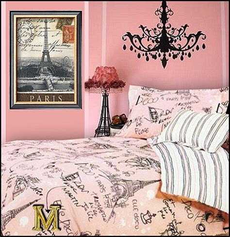 Paris Style Bedroom | decorating theme bedrooms maries manor eiffel tower