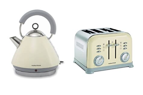 Morphy Richards Kettle And Toaster morphy richards metallic accents kettle and retro 4 slice toaster set ebay