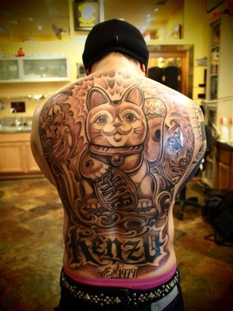 tattoo mr cartoon gallery back tattoos for men ideas and designs for guys