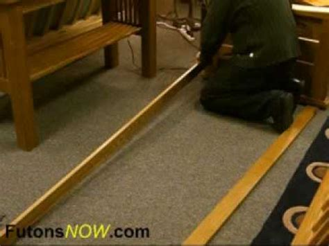 Wooden Futon Assembly by Wood Futon Frame Assembly