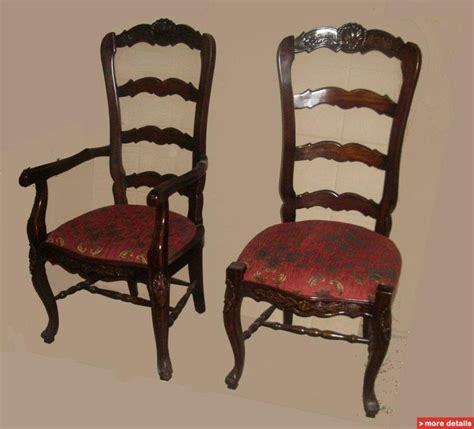 Country French Furniture Reproductions Antique Antique Reproduction Dining Chairs
