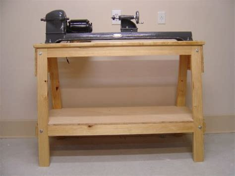 wood lathe bench photo index sears dunlap wood lathe convertible to